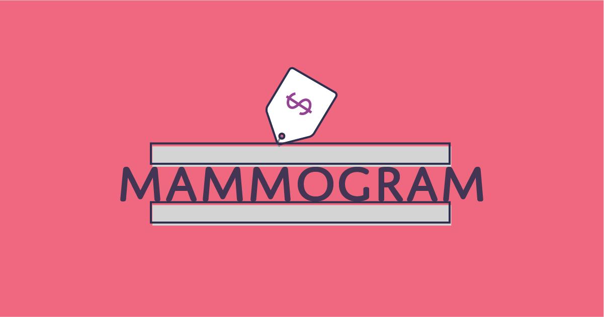 mammogram cost