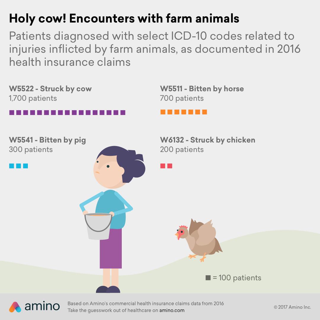 livestock injuries