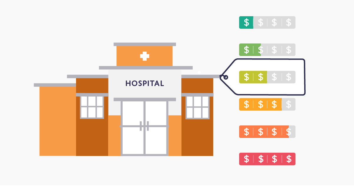 hospital price tag