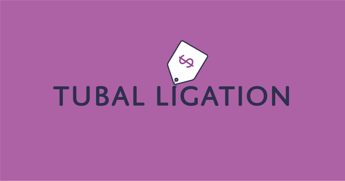 How much does tubal ligation cost?