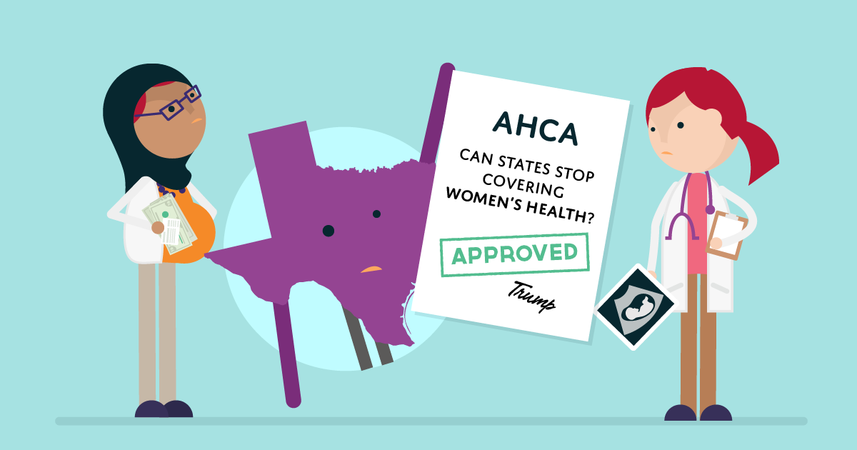 Women could pay more for preventive care under the AHCA