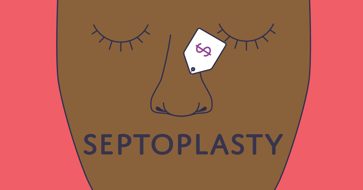 How much does a septoplasty cost?