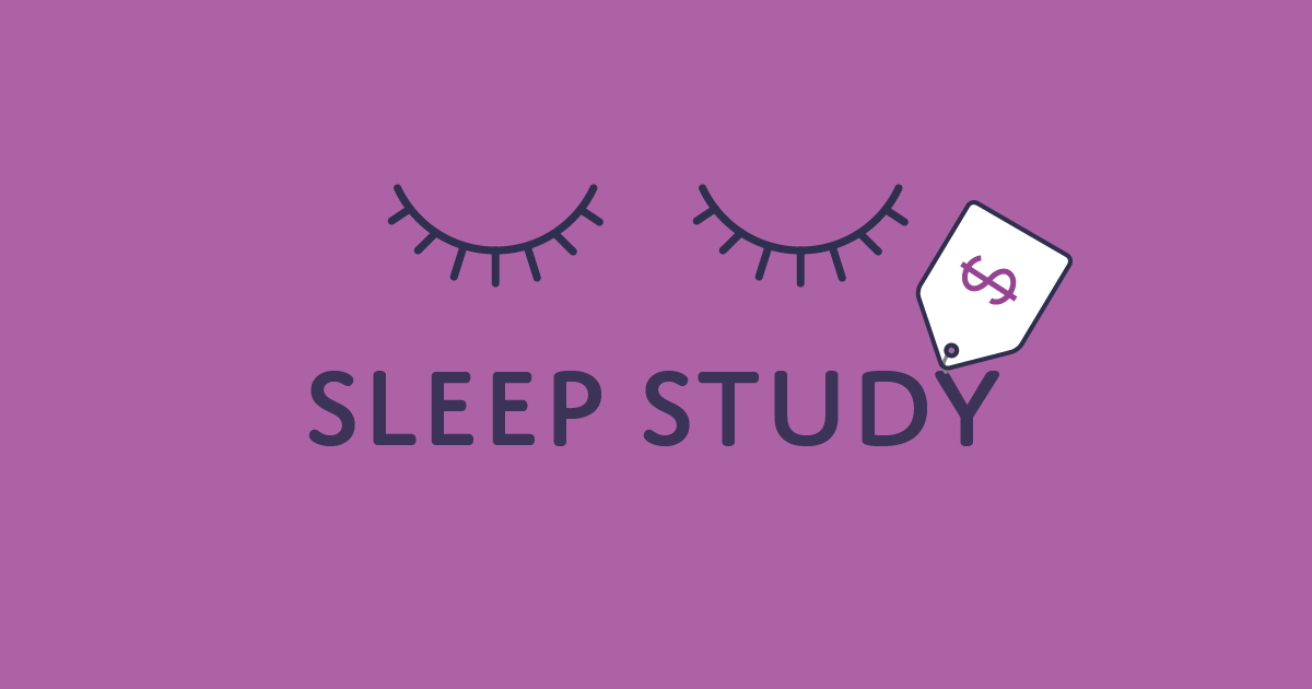 How much does a sleep study cost?